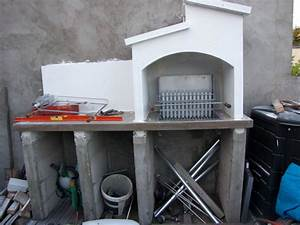 barbecue beton cellulaire plan With beton cellulaire exterieur barbecue