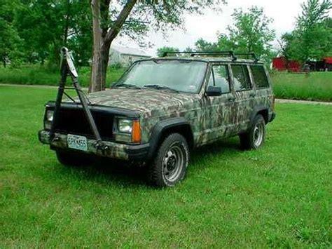 camo jeep cherokee sell used 1994 jeep cherokee sport 4x4 motorhome tow car