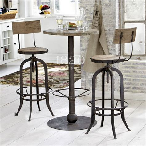 chaise de bar vintage vintage wrought iron tables and chairs can lift