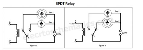 Spdt Relay Single Pole Double Throw