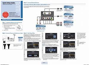 Samsung Ln32d405e3d Quick Setup Manual Pdf Download