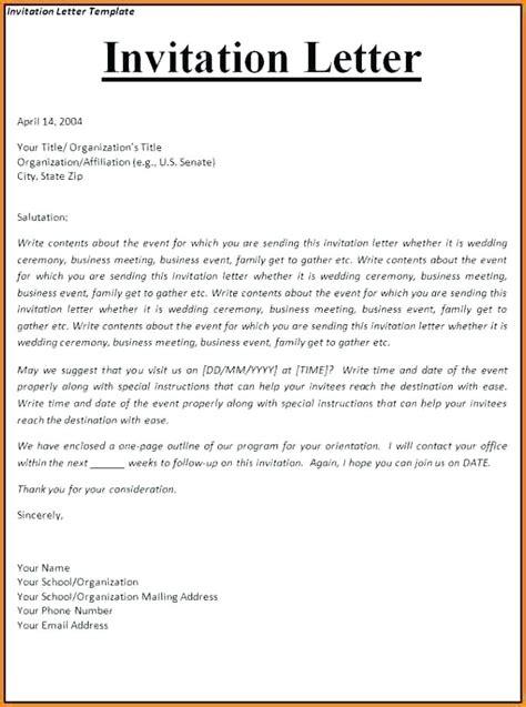 invitation letter for us visa best solutions of invitation