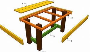 Come costruire un tavolo da giardino in legno for Come costruire un tavolo da cucina
