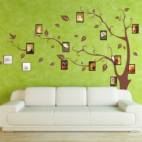 photo frame wall decals photo frame decal wall sticker