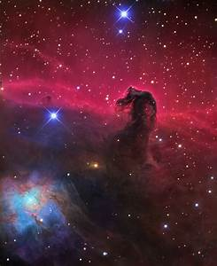 IC 434- Horsehead Nebula in Orion (detail)