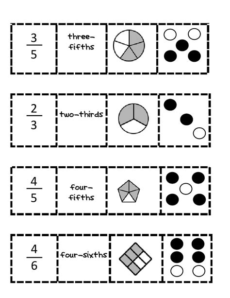 40 Best Images About Basic Fractions On Pinterest  Activities, Fraction Games And Memories