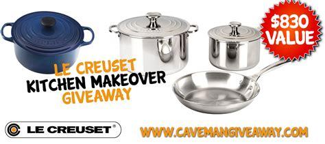 kitchen makeover giveaway le creuset kitchen makeover giveaway 2262