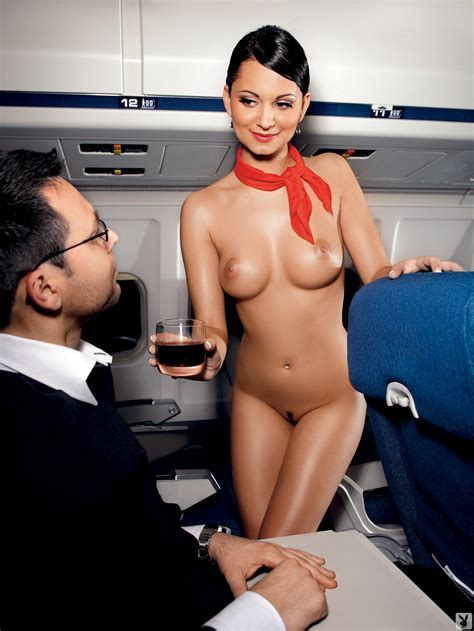 airline stewardessen porno