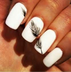 About white nails on nail art and snow angels
