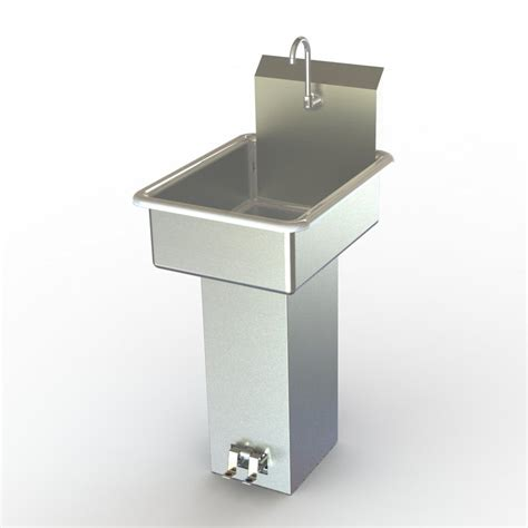 Aero Manufacturing Lb Stainless Steel Utility Room Sink