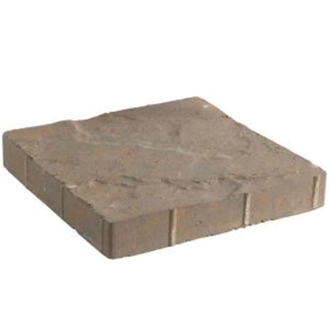 home depot tuscany hours pavestone 12 in x 12 in antique buff tuscan concrete step stone 26140 on popscreen