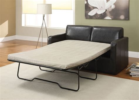 leather sofa bed sleeper casby espresso pu leather sofa bed full sleeper