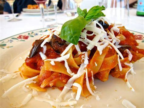 recette cuisine italienne gastronomique pâtes à la sicilienne recette de la pasta alla norma