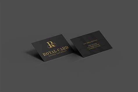 Dark Business Card Mockup Psd Antique Business Cards Samples Edmonton Staples Online India Visiting Psd 600gsm Uk Specials Who Does Near Me Hyderabad
