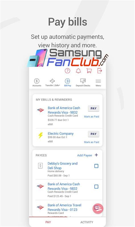 Bank of america virtual credit card. Download Bank of America Internet Banking Android App for Samsung Phones | Samsung Fan Club