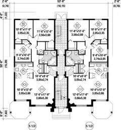 large family floor plans multi family plan 52764 at familyhomeplans
