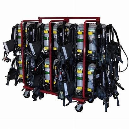 Scba Rack Ready Storage Multiple Mobile Fire