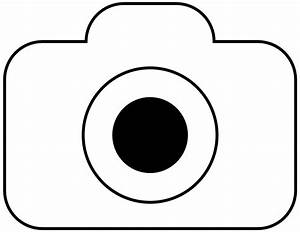 The gallery for --> Camera Clip Art Black And White Png