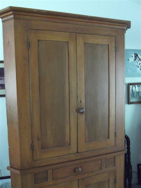 Antique Corner Cupboards For Sale by Early America Corner Cupboard C1840 For Sale Antiques