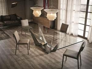 Table De Salle À Manger En Verre : table de salle manger de design italien par cattelan italia ~ Dallasstarsshop.com Idées de Décoration