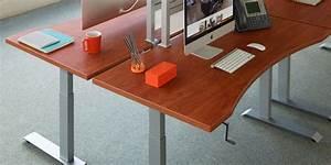 Sierra Hxl Crank Manual Sit Stand Desk