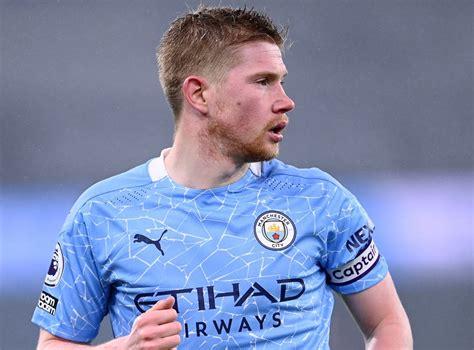 Kevin De Bruyne injury: Manchester City midfielder in ...