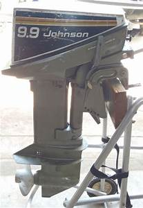 Johnson 9 9 Hp Outboard For Sale Boat Trolling Motor Used