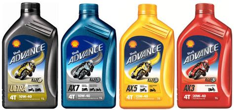 Shell Introduces New Advance 4t Range Of Motorcycle Oils
