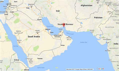 israel  stuff strait  hormuz google mapsisrael
