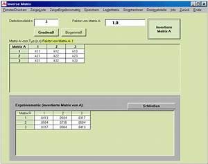 Inverse Matrix Berechnen Mit Rechenweg : masterallround der pc rechner matrizen ~ Themetempest.com Abrechnung
