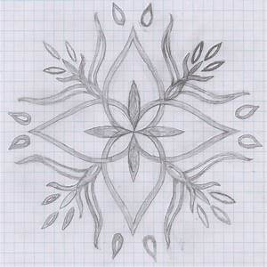 how+to+draw+a+flower+on+graph+paper | flower design on ...