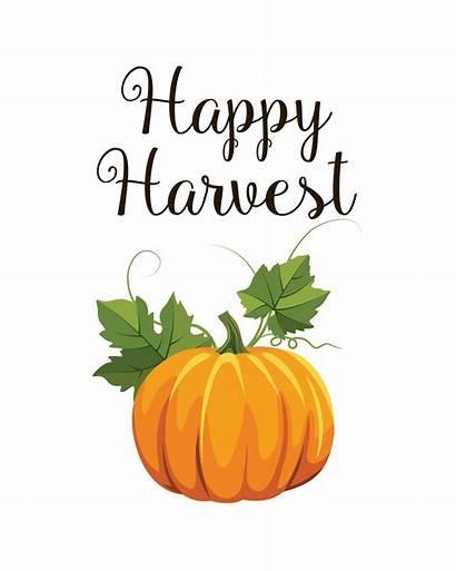 Printable Harvest Fall Happy Printables 8x10 Fun