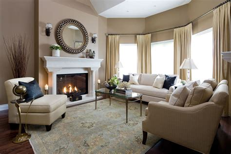Jane Lockhart Formal Living Room  Traditional Living