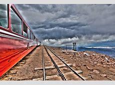 The Cog Rail at the summit of Pike's Peak – JMimna
