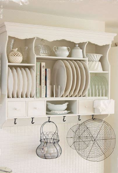 adorable cottage plate rack notice  dowels         top  easy
