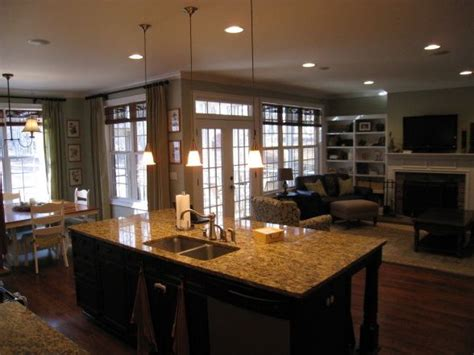 Great Room, Kitchen  New House  Pinterest