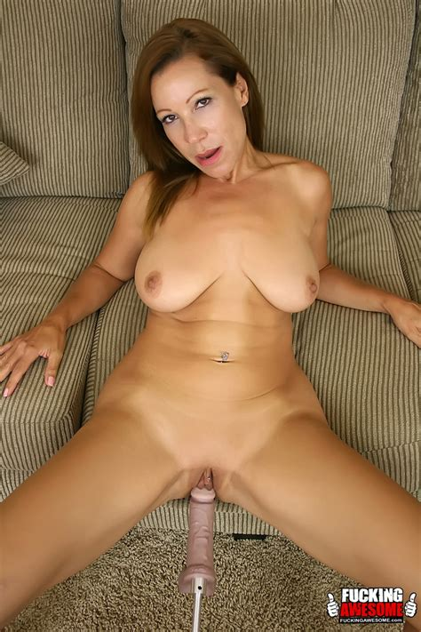 Samantha Is A Horny Cougar On The Prowl For Pleasure From