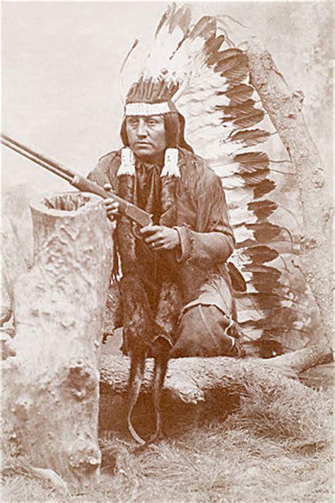 kiowa indian   winchester rifle cs