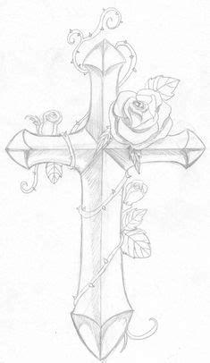 cross tattoos for men | Gothic cross tattoo drawing and wings cross tattoo drawing. - Peg It