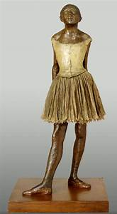 "cyberarts.: Degas, ""The Little 14-Year-Old Dancer""."