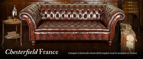 canap chesterfield cuir occasion canapés occasion chesterfieldfrance com