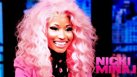 Nicki Minaj Pink Hair Wallpaper | MOVIE