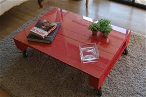 DIY Pallet Painted Coffee Table   Pallets Designs