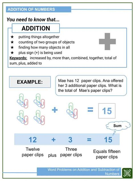 word problems  addition  subtraction  numbers