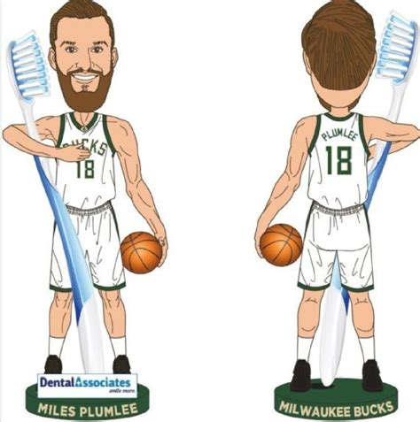 toothbrush toting bobbleheads lead list   nba giveaways