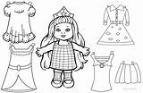 Doll Paper Coloring Printable Pages Lol Dolls Colouring Template Baby Surprise Drawing Loon Princess Templates Getcolorings Getdrawings Colorings sketch template