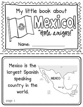 mexico booklet a country study social studies