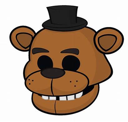 Animated Clipart Freddy Conference Fnaf Mask Face