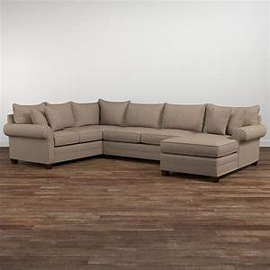 alex u shaped sectional sofa living room bassett furniture With u shaped sectional sofa bed