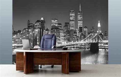 papier peint bureau papier peint york pour un intérieur moderne et original